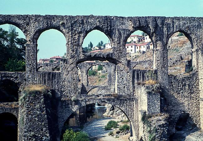 Roman Aqueduct. Izmir