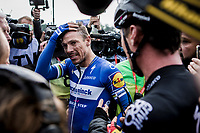 Philippe GILBERT (BEL/Deceuninck-Quick Step) wins his first Roubaix and is now 1 win away of having won ALL 5 Monument Classics (Milano-Sanremo still missing from his list)<br /> <br /> 117th Paris-Roubaix (1.UWT)<br /> 1 Day Race: Compiègne-Roubaix (257km)<br /> <br /> ©kramon