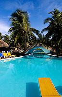 Pool at the Hotel Brisas el Mar inTrinidad Cuba