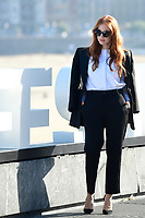 San Sebastian, SPAIN-September 24:  **NO SPAIN** Jessica Chastain at 'The Eyes of Tammy Faye' Photocall during 69th San Sebastian International Film Festival at Kursaal Palace on September 24, 2021 in Donostia / San Sebastian, Spain. Credit: Jimmy Olsen/MediaPunch