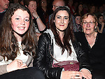 Abbie Kearney, Shauna Andrews and Doreen Kearney pictured at Naomh Fionnbarra Strictly Come Dancing in the TLT. Photo:Colin Bell/pressphotos.ie