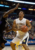 Jamal Boykin looks to the rim. The Washington Huskies defeated the California Golden Bears 79-75 during the championship game of the Pacific Life Pac-10 Conference Tournament at Staples Center in Los Angeles, California on March 13th, 2010.