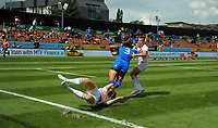 Day two of the 2018 HSBC World Sevens Series Hamilton at FMG Stadium in Hamilton, New Zealand on Saturday, 3 February 2018. Photo: Dave Lintott / lintottphoto.co.nz