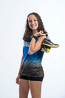 NWA Democrat-Gazette/BEN GOFF @NWABENGOFF<br /> Ali Nachtigal of Rogers, girls cross country runner of the year, poses for a photo Wednesday, Nov. 28, 2018, at the Northwest Arkansas Democrat-Gazette studio in Springdale.