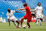 Real Madrid´s Seedorf during 2015 Corazon Classic Match between Real Madrid Leyendas and Liverpool Legends at Santiago Bernabeu stadium in Madrid, Spain. June 14, 2015. (ALTERPHOTOS/Victor Blanco)