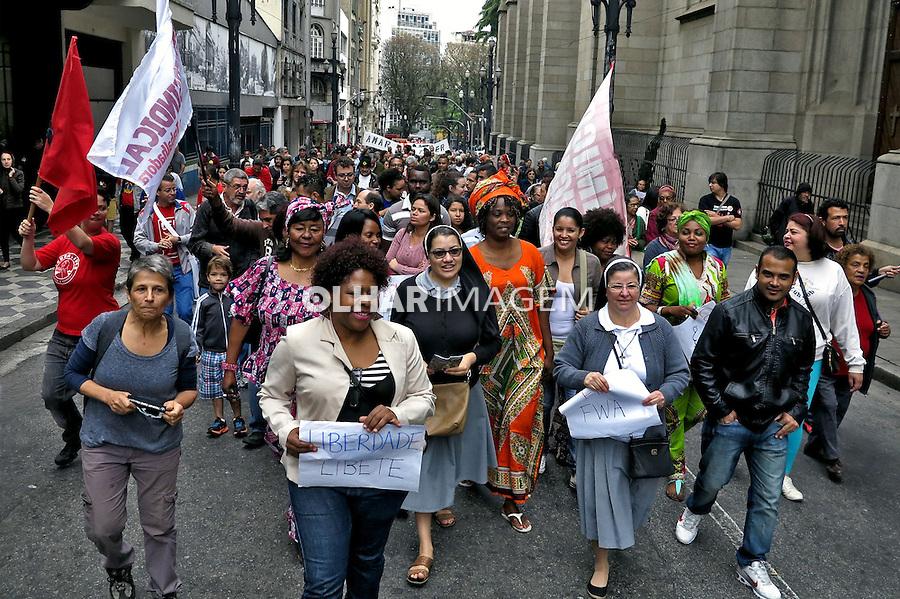 Manifestaçao Grito dos Excluidos. Sao Paulo. 2016. Foto de Marcia Minillo.