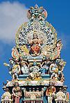 MUS, Mauritius, Grand Baie: Vadapazhanee Murugan Kovil, Hindu-Tempel | MUS, Mauritius, Grand Baie: Vadapazhanee Murugan Kovil, Hindu-Temple