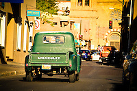 Rush Hour - Santa Fe, New Mexico - Chevy Truck