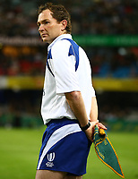Assistant Referee:Glen Jackson (New Zealand) during the 2nd Castle Lager Incoming Series Test match between South Africa and France at Growthpoint Kings Park on June 17, 2017 in Durban, South Africa. Photo: Steve Haag / stevehaagsports.com