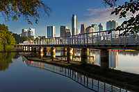 Austin is home to a huge running community that trains hard and plays hard on the Boardwalk Hike-and-Bike Trail, a 10.1-mile path around Lady Bird Lake is the city's most popular running route. Bridges make it easy to run loops from a 5K to the full 10 miles. The Trail Foundation, a nonprofit trail steward, estimates that it's used by up to 15,000 people each day.