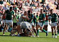 5th June 2021; Brentford Community Stadium, London, England; Gallagher Premiership Rugby, London Irish versus Wasps; Dan Robson of Wasps passes the ball