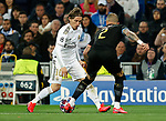 Real Madrid CF's Luka Modric seen in action during UEFA Champions League match, round of 16 first leg between Real Madrid and Manchester City at Santiago Bernabeu Stadium in Madrid, Spain. February Wednesday 26, 2020.(ALTERPHOTOS/Manu R.B.)