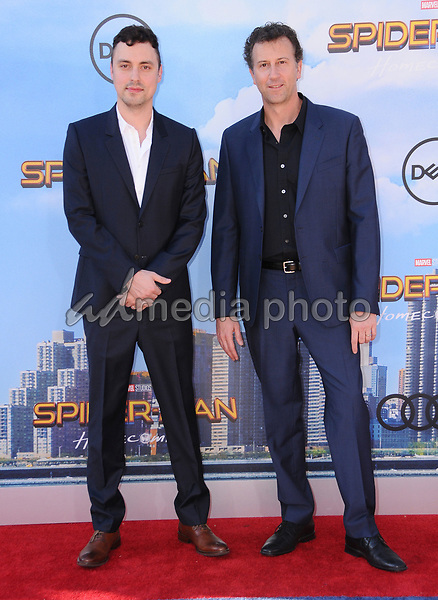 """28 June 2017 - Hollywood, California - John Francis Daley, Jonathan Goldstein. """"Spider-Man: Homecoming"""" Los Angeles Premiere held at the TCL Chinese Theatre in Hollywood. Photo Credit: Birdie Thompson/AdMedia"""