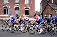 The 2 favourites: World Champion Julian Alaphilippe (FRA/Deceuninck-QuickStep) & Dutch National Champion Mathieu Van der Poel (NED/Alpecin-Fenix) <br /> <br /> 60th De Brabantse Pijl 2020 - La Flèche Brabançonne (1.Pro)<br /> 1 day race from Leuven to Overijse (BEL/197km)<br /> <br /> ©kramon