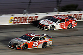 #20: Erik Jones, Joe Gibbs Racing, Toyota Camry Sport Clips, #15: Brennan Poole, Premium Motorsports, Chevrolet Camaro