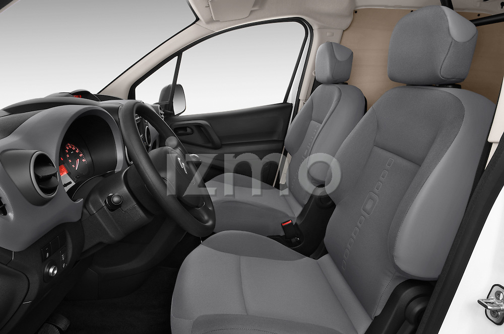 Front seat view of a 2015 Citroen BERLINGO 1.6 VT 4 Door Car Van Front Seat car photos