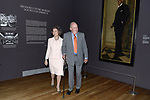 King Juan Carlos and Queen Sofia open the exhibition 'Visiones Del Mundo Hispanico. Tesoros de la Hispanic Society Museum & Library'. April 3 ,2017. (ALTERPHOTOS/Pool)