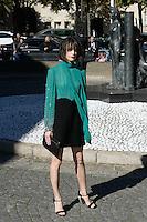Stacy Martin - Show MIU MIU - Paris Fashion Week Womenswear Spring/Summer 2017 - 5 octobre 2016 - FRANCE