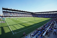 SAN JOSE, CA - AUGUST 8: PayPal Park during a game between Los Angeles FC and San Jose Earthquakes at PayPal Park on August 8, 2021 in San Jose, California.