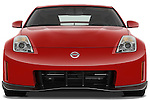Straight front view of a 2008 Nissan 350z Coupe Nismo