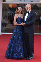 Alberto Barbera and Serena Rossi attending the Closing Ceremony Red Carpet as part of the 78th Venice International Film Festival in Venice, Italy on September 11, 2021. <br /> CAP/MPI/IS/PAC<br /> ©PAP/IS/MPI/Capital Pictures