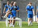 St Johnstone Training….29.06.19   McDiarmid Park, Perth<br />Richard Foster<br />Picture by Graeme Hart.<br />Copyright Perthshire Picture Agency<br />Tel: 01738 623350  Mobile: 07990 594431