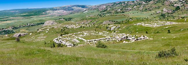 Photo of the Hittite the Hittite capital Hattusa
