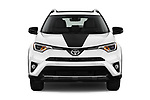 Car photography straight front view of a 2018 Toyota RAV4 Adventure 5 Door SUV