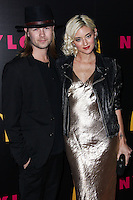 WEST HOLLYWOOD, CA - DECEMBER 05: Bobby Alt, Caroline D'Amore arriving at the Nylon Magazine December 2013/January 2014 Cover Launch Party held at Quixote Studios on December 5, 2013 in West Hollywood, California. (Photo by Xavier Collin/Celebrity Monitor)