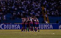 SAN PEDRO SULA, HONDURAS - SEPTEMBER 8: The USMNT huddles during a game between Honduras and USMNT at Estadio Olímpico Metropolitano on September 8, 2021 in San Pedro Sula, Honduras.