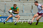 Killian Spillane, Kerry in action against Liam Silke, Galway during the Allianz Football League Division 1 South Round 1 match between Kerry and Galway at Austin Stack Park in Tralee.