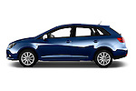 Car Driver side profile view of a 2016 Seat Ibiza ST Style 5 Door Wagon Side View