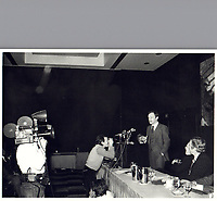 File Photo  - Jean Chretien - december 6, 1978<br /> <br /> PHOTO  :  John Raudsepp<br />  - Agence Quebec Presse