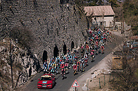 neutralised section to the start<br /> <br /> 76th Paris-Nice 2018<br /> stage 6: Sisteron > Vence (198km)