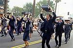 Precision Brief Case Drill Team at the Doo Dah Parade in Pasadena, CA