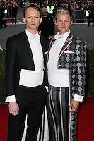 "NEW YORK CITY, NY, USA - MAY 05: Neil Patrick Harris, David Burtka at the ""Charles James: Beyond Fashion"" Costume Institute Gala held at the Metropolitan Museum of Art on May 5, 2014 in New York City, New York, United States. (Photo by Xavier Collin/Celebrity Monitor)"