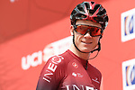 Chris Froome (GBR) Team Ineos at sign on before Stage 4 the Emirates NBD Stage of the UAE Tour 2020 running 173km from Dubai Zabeel Park to Dubai City Walk, Dubai. 26th February 2020.<br /> Picture: LaPresse/Fabio Ferrari | Cyclefile<br /> <br /> All photos usage must carry mandatory copyright credit (© Cyclefile | LaPresse/Fabio Ferrari)