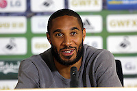Pictured: Captain Ashley Williams. Thursday 14 August 2014<br />