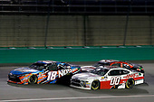 #00: Cole Custer, Stewart-Haas Racing, Ford Mustang Haas Automation #18: Kyle Busch, Joe Gibbs Racing, Toyota Camry NOS Energy Drink