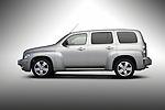 Studio stock photo driver side profile of a 2006 Chevrolet HHR.