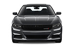 Car photography straight front view of a 2019 Dodge Charger SXT 4 Door Sedan