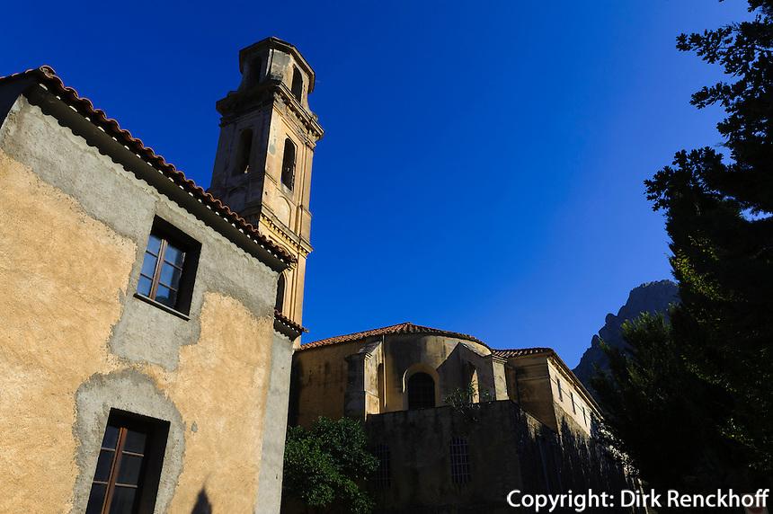 Barockkirche von Kloster von Corbara in der Balagne, Korsika, Frankreich