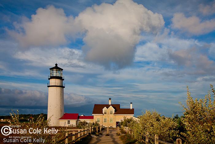 Highland Light in Truro, Cape Cod National Seashore, MA, USA