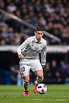James Rodriguez of Real Madrid in action during their Copa del Rey Round of 16 match between Real Madrid and Sevilla FC at the Santiago Bernabeu Stadium on 04 January 2017 in Madrid, Spain. Photo by Diego Gonzalez Souto / Power Sport Images