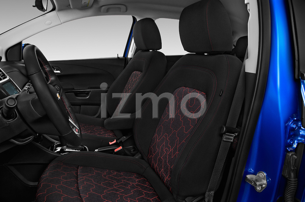 Front seat view of 2017 Chevrolet Sonic LT 5 Door Hatchback Front Seat  car photos