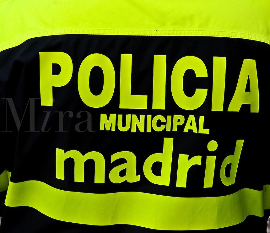 Police Jacket, Madrid, Spain