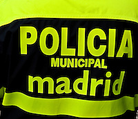 Police Jacket, Madrid, Spain