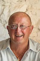 Michel Vanhoulte Vinyes Mas Romani. Owner winemaker. Spain Europe.