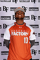 Max Dias (10) of Porter High School in Porter, Texas during the Baseball Factory All-America Pre-Season Tournament, powered by Under Armour, on January 12, 2018 at Sloan Park Complex in Mesa, Arizona.  (Mike Janes/Four Seam Images)
