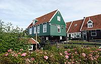 Nederland -  Marken - 2019.  Huizen op Marken.  Berlinda van Dam / Hollandse Hoogte